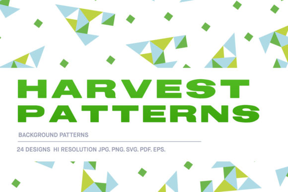 Download Free Harvest Pattern Pack Graphic By Huebert World Creative Fabrica for Cricut Explore, Silhouette and other cutting machines.