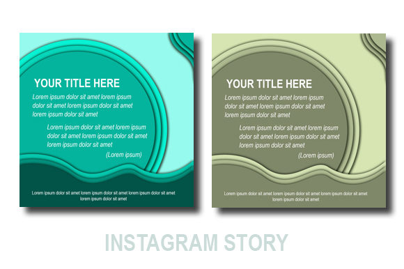 Download Free Instagram Story Design Template Graphic By Koes Design for Cricut Explore, Silhouette and other cutting machines.