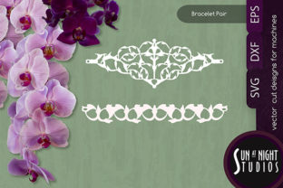 Leafy Bracelet Vector Cut Graphic Crafts By Sun At Night Studios