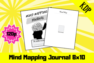 Print on Demand: Mind Mapping Journal   KDP Interior Graphic KDP Interiors By KDP Mastermind