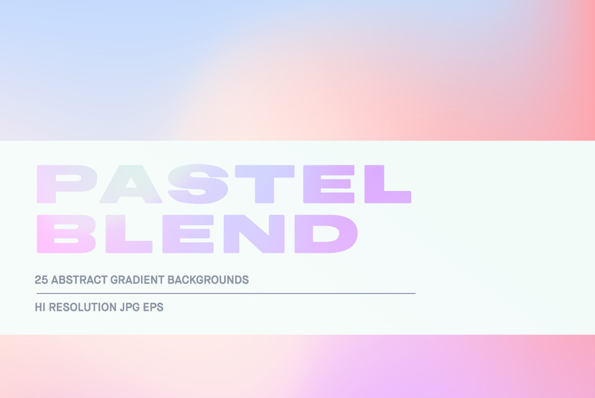 Download Free Pastel Blend Graphic By Huebert World Creative Fabrica for Cricut Explore, Silhouette and other cutting machines.