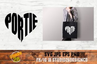 Download Free Portie Heart Portuguese Water Dog Graphic By Studio 26 Design for Cricut Explore, Silhouette and other cutting machines.