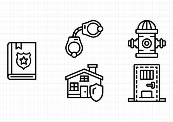 Security Graphic Icons By beryladamayu