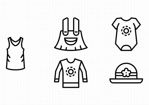 Download Free Summer Clothes Graphic By Beryladamayu Creative Fabrica SVG Cut Files