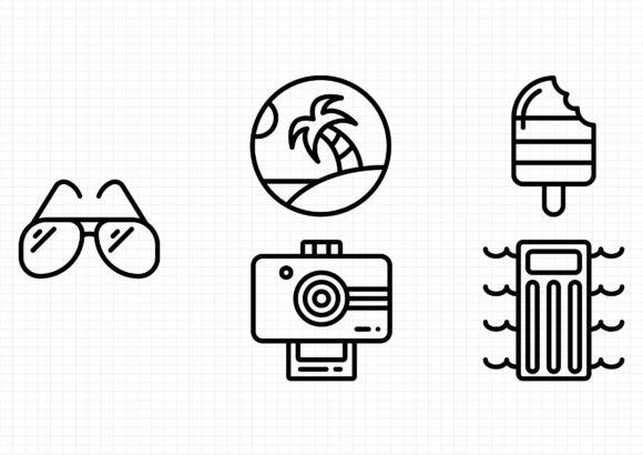 Download Free Symbols Graphic By Beryladamayu Creative Fabrica for Cricut Explore, Silhouette and other cutting machines.
