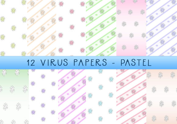 Download Free The Virus Papers Pastel Graphic By Capeairforce Creative Fabrica for Cricut Explore, Silhouette and other cutting machines.