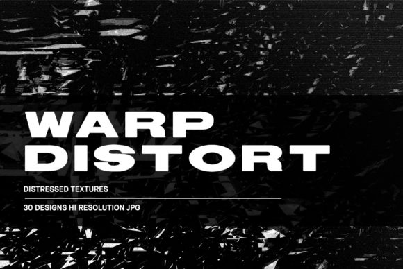 Download Free Warp Distort Distressed Textures Graphic By Huebert World for Cricut Explore, Silhouette and other cutting machines.