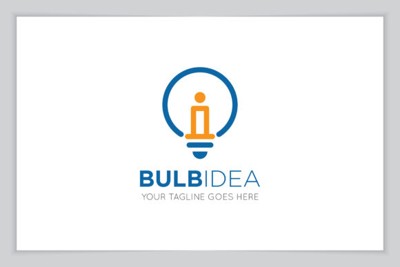 Download Free Idea Bulb Logo Icon Symbol Vector Graphic By Amindachoirunanaz for Cricut Explore, Silhouette and other cutting machines.