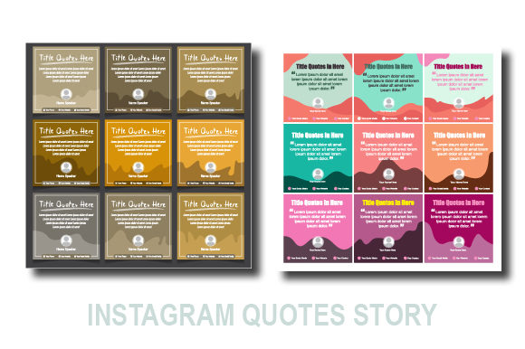 Download Free 18 Set Social Media Banner Quotes Design Graphic By Koes Design for Cricut Explore, Silhouette and other cutting machines.