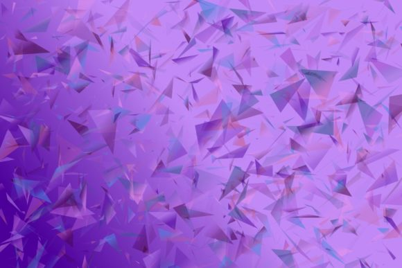 Abstract Background With Triangles Graphic By Davidzydd