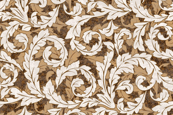 Download Free Brown Swirl Pattern With Texture Graphic By Emikundesigns for Cricut Explore, Silhouette and other cutting machines.