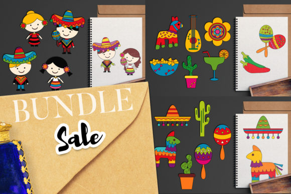 Download Free Cinco De Mayo Bundle Graphic By Revidevi Creative Fabrica for Cricut Explore, Silhouette and other cutting machines.