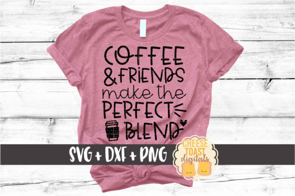 Download Coffee and Friends Make Perfect Blend
