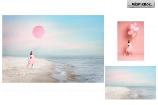 Print on Demand: Dream Beach Backgrounds Graphic Backgrounds By MixPixBox 3