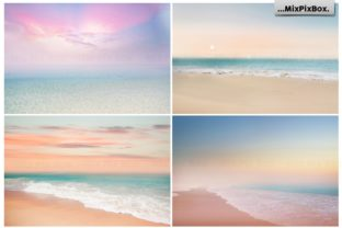 Print on Demand: Dream Beach Backgrounds Graphic Backgrounds By MixPixBox 4