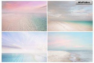 Print on Demand: Dream Beach Backgrounds Graphic Backgrounds By MixPixBox 5