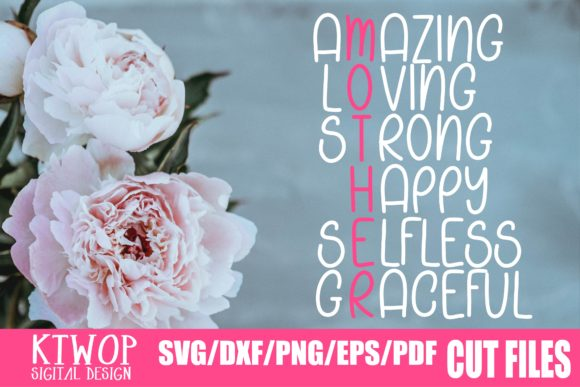 Download Free Amazing Loving Strong Happy Selfless Graceful Graphic By for Cricut Explore, Silhouette and other cutting machines.