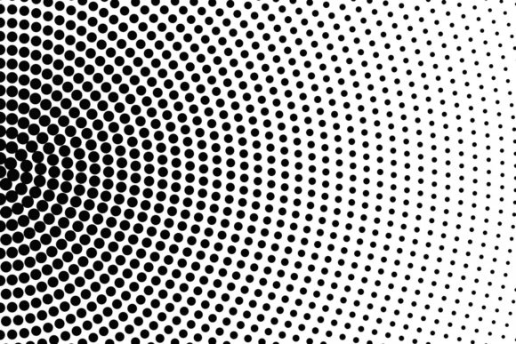 Download Free Halftone Circle Pattern Graphic By Davidzydd Creative Fabrica for Cricut Explore, Silhouette and other cutting machines.