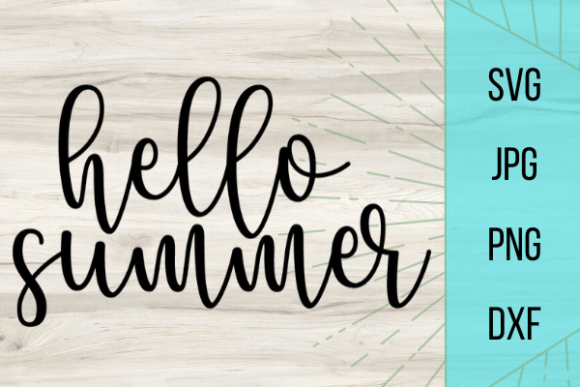 Print on Demand: Hello Summer Graphic Crafts By Talia Smith