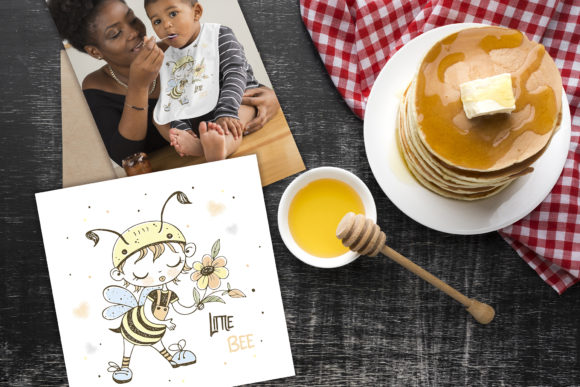 Honey Family Graphic Illustrations By grigaola - Image 4