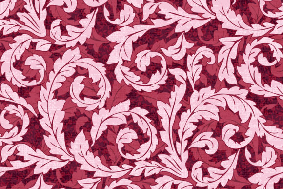 Swirl Pattern with Texture in Reds Graphic Patterns By emikundesigns