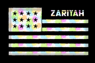 Zariyah Graphic Crafts By HASSHOO