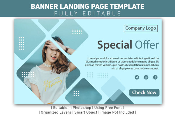 Banner Special Offer  Template Design Graphic Web Templates By ant project template