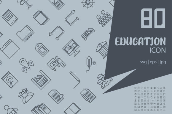 Education Graphic Icons By astuti.julia93@gmail.com