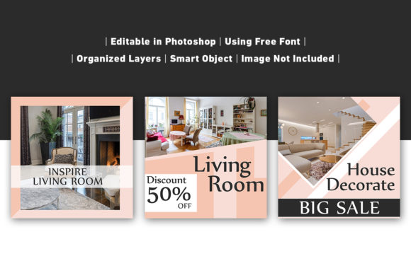 Download Free Social Media Post Home Modern Interior Graphic By Ant Project for Cricut Explore, Silhouette and other cutting machines.