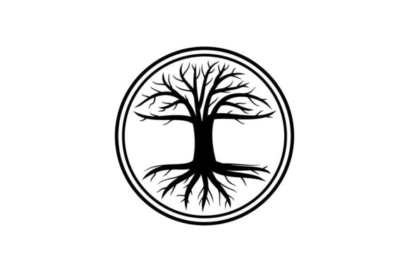 Download Free Tree Of Life Logo Vector Graphic By Artpray Creative Fabrica for Cricut Explore, Silhouette and other cutting machines.