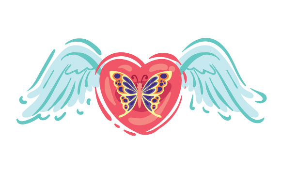 Butterfly Remembrance Craft Cut File By Creative Fabrica Crafts