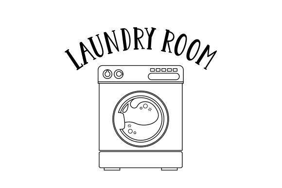 Download Free Laundry Room Svg Cut File By Creative Fabrica Crafts Creative for Cricut Explore, Silhouette and other cutting machines.