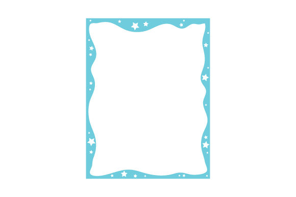 Stationery Border Designs & Drawings Craft Cut File By Creative Fabrica Crafts - Image 1