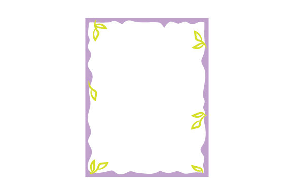 Stationery Border Designs & Drawings Craft Cut File By Creative Fabrica Crafts