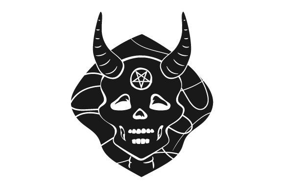 Download Free Occult Demon Svg Cut File By Creative Fabrica Crafts Creative for Cricut Explore, Silhouette and other cutting machines.