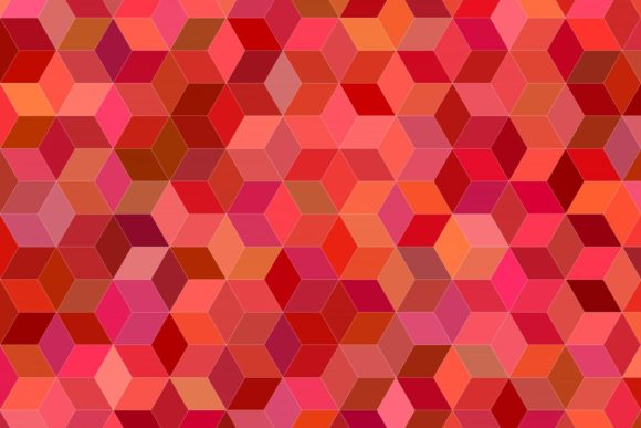 3d Cube Pattern Background Graphic By Davidzydd Creative Fabrica