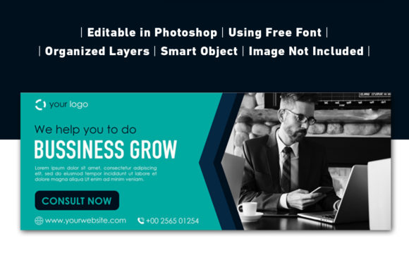Download Free Business Banner Modern Template Collection Graphic By Ant SVG Cut Files