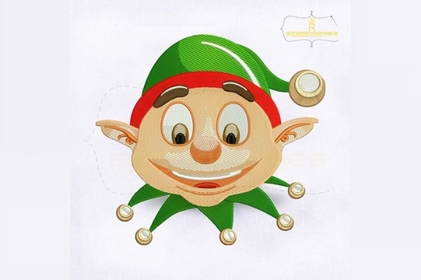 Download Free Christmas Elf Face Creative Fabrica for Cricut Explore, Silhouette and other cutting machines.