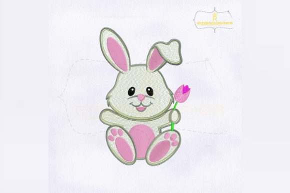 Cute and Lovely Bunny Baby Animals Embroidery Design By RoyalEmbroideries