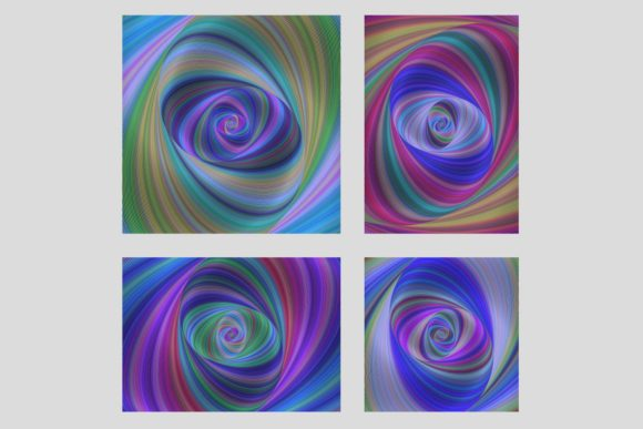 Digital Art Background Set Graphic By Davidzydd Creative Fabrica