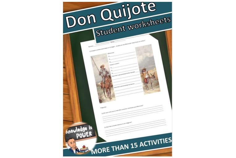 Download Free Don Quijote De La Mancha Graphic By Alifarid Creative Fabrica for Cricut Explore, Silhouette and other cutting machines.