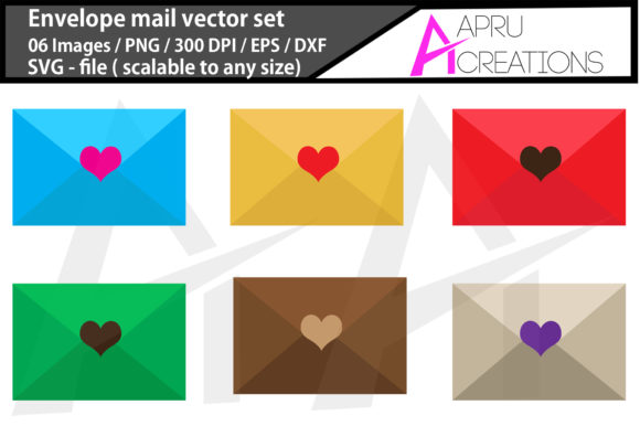 Download Free Envelope Mail Letter Envelope Mail Graphic By Aparnastjp for Cricut Explore, Silhouette and other cutting machines.