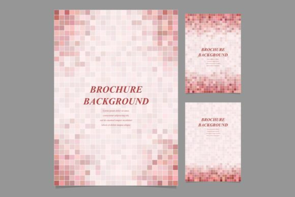 Download Free Geometric Brochure Backgrounds Graphic By Davidzydd Creative for Cricut Explore, Silhouette and other cutting machines.