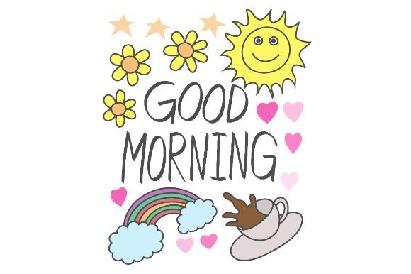 Download Free Good Morning Doodles Art Graphic By Firdausm601 Creative Fabrica SVG Cut Files