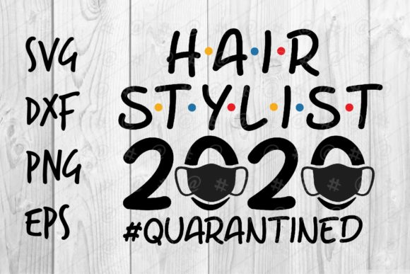 Download Free Hair Stylist 2020 Graphic By Spoonyprint Creative Fabrica for Cricut Explore, Silhouette and other cutting machines.