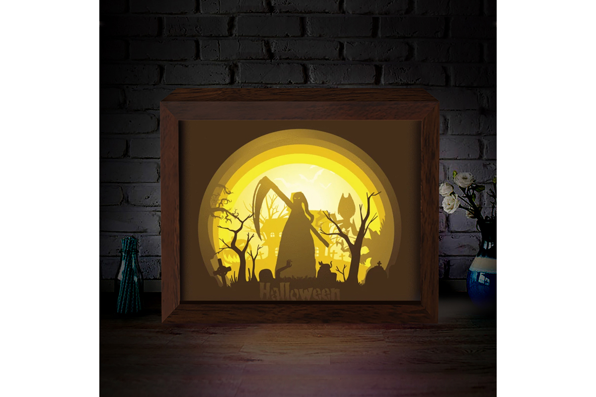 Halloween Shadow Box Svg Free Free Svg Cut Files Create Your Diy Projects Using Your Cricut Explore Silhouette And More The Free Cut Files Include Svg Dxf Eps And Png Files