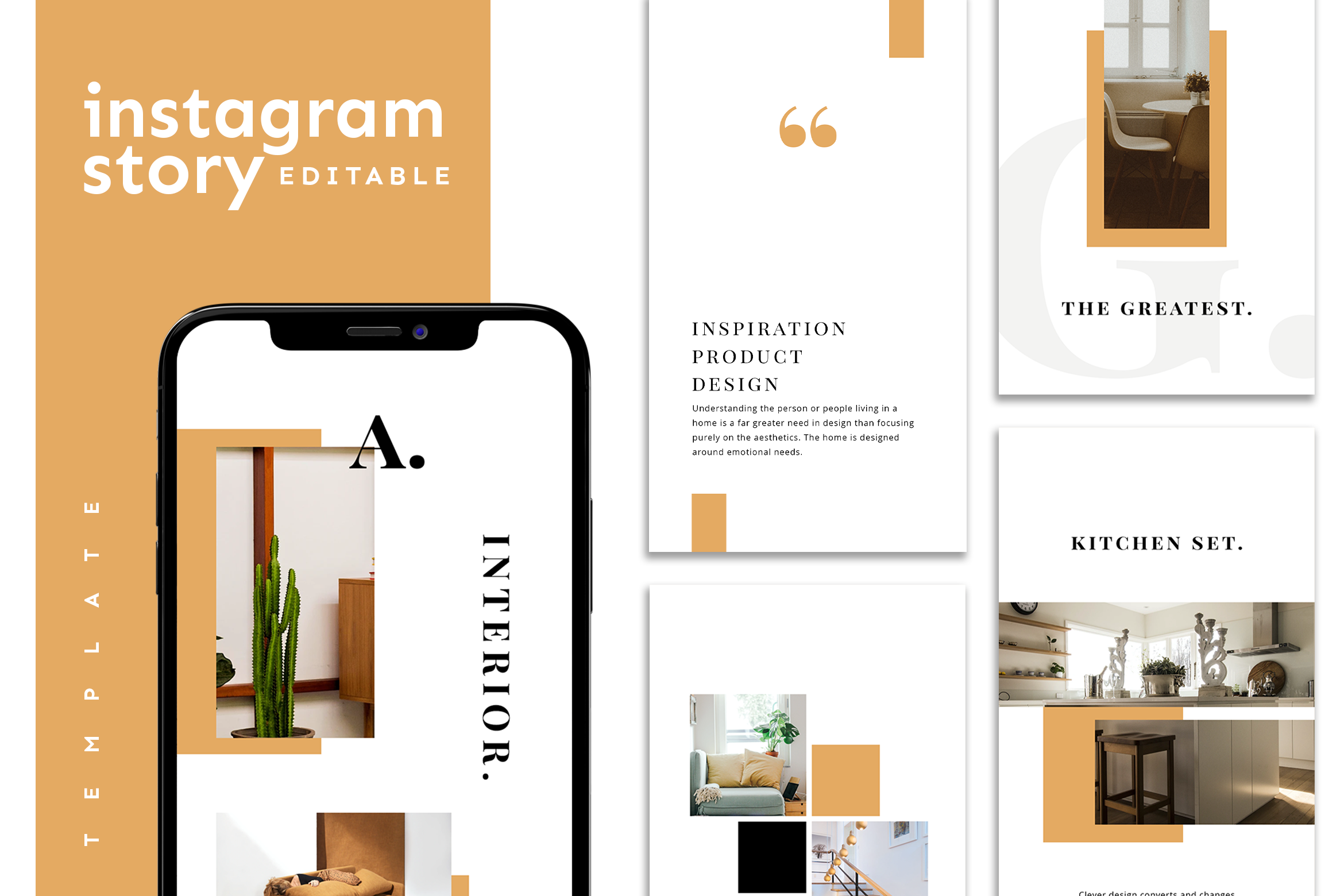 Download Free Instagram Story Template Graphic By Ovoz Graphics Creative Fabrica SVG Cut Files