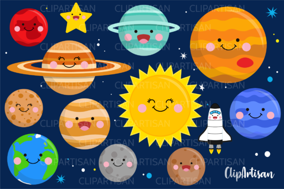 Download Free 1 Pluto Clipart Designs Graphics for Cricut Explore, Silhouette and other cutting machines.