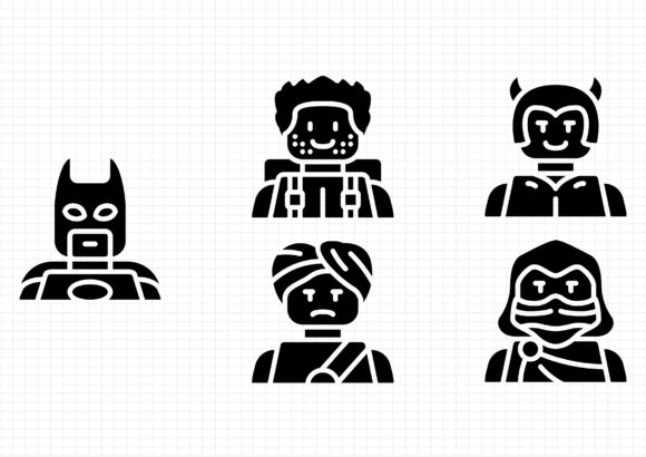 Download Free Lego Avatars Graphic By Beryladamayu Creative Fabrica for Cricut Explore, Silhouette and other cutting machines.