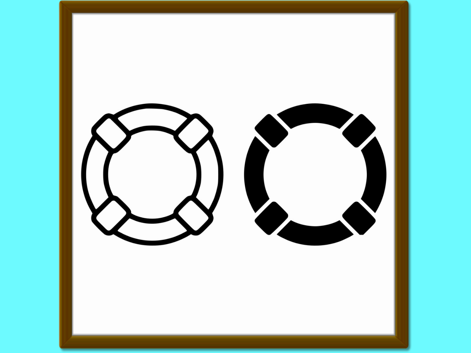 Download Free Lifebuoy Line And Glyph Icon Sos Vector Graphic By Anrasoft for Cricut Explore, Silhouette and other cutting machines.